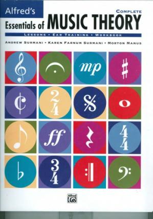 Book cover Alfred's Essentials of Music Theory, Complete
