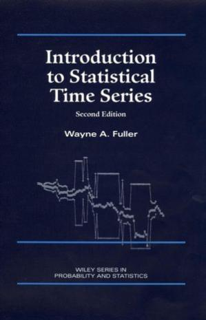 Copertina Introduction to Statistical Time Series, Second Edition