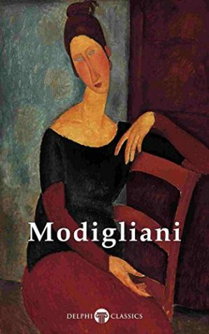 Book cover Delphi Complete Paintings of Amedeo Modigliani (Illustrated)