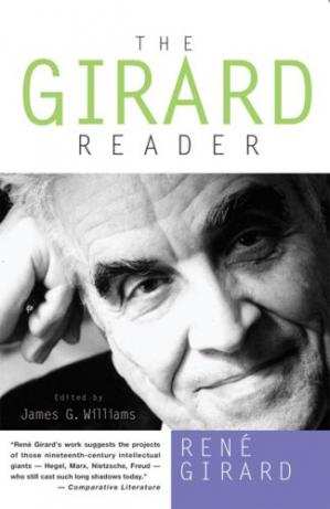 A capa do livro The Girard Reader