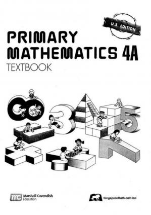 Book cover Singapore Math 4A - Textbook_page_0001