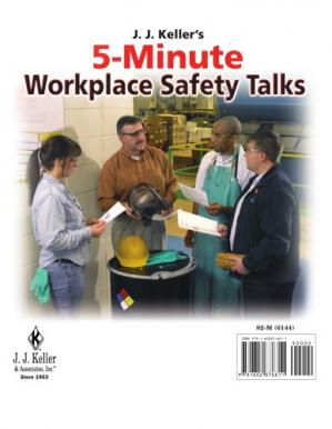 Book cover J.J. Keller's 5-minute workplace safety talks, 2011 edition