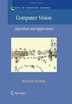 Book cover Computer Vision: Algorithms and Applications