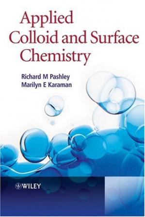 Book cover Applied Colloid and Surface Chemistry