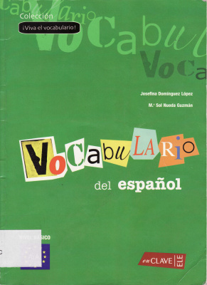 Book cover ¡Viva el vocabulario! Vocabulario del español 1 (A1-A2)