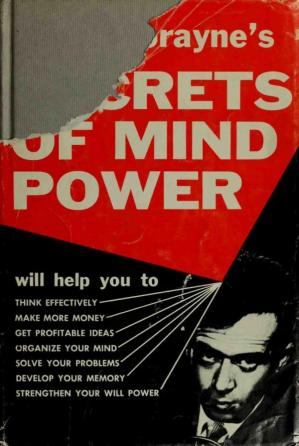 Book cover Harry Lorayne's Secrets of Mind Power: How to Organize and Develop the Hidden Powers of Your Mind