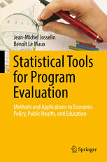 Book cover Statistical Tools for Program Evaluation : Methods and Applications to Economic Policy, Public Health, and Education