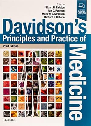 Book cover Davidson's Principles and Practice of Medicine (23rd edition)