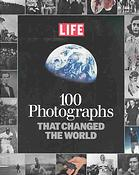 पुस्तक कवर 100 photographs that changed the world