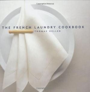 A capa do livro The French Laundry Cookbook