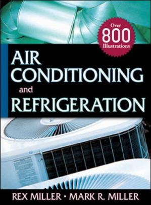 غلاف الكتاب Air conditioning and refrigeration