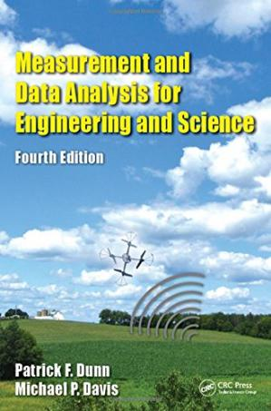 Book cover Measurement and Data Analysis for Engineering and Science, Fourth Edition