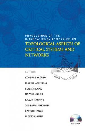 Okładka książki Topological Aspects of Critical Systems and Networks