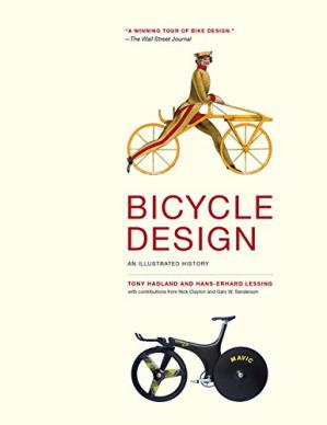 Book cover Bicycle Design: An Illustrated History