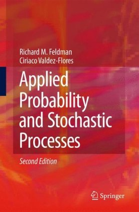 पुस्तक कवर Applied Probability and Stochastic Processes
