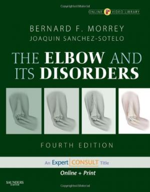 Book cover Morrey's The Elbow and Its Disorders: Expert Consult - Online and Print (ELBOW & ITS DISORDERS (MORREY)), 4th Edition