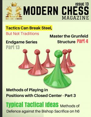 Book cover Modern Chess Magazine - Issue 13 (April 2017)-TLS