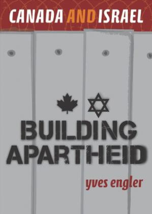 A capa do livro Canada and Israel: Building Apartheid