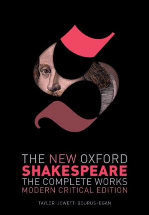 A capa do livro The New Oxford Shakespeare. The Complete Works. Modern Critical Edition