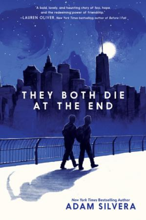 A capa do livro They Both Die At The End