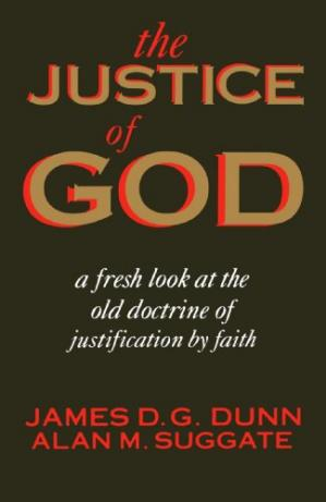 Okładka książki The Justice of God: A Fresh Look at the Old Doctrine of Justification by Faith