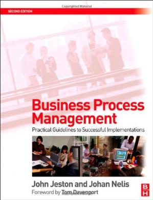 Book cover Business Process Management, : Practical Guidelines to Successful Implementations
