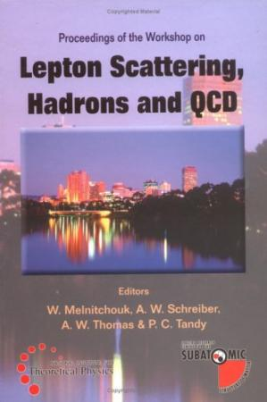 Book cover Lepton Scattering, Hadrons and QCD Proceedings