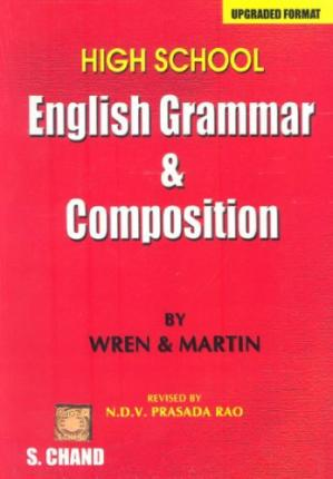 Book cover High School English Grammar and Composition