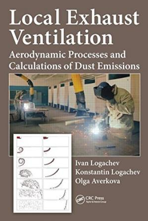 Sampul buku Local Exhaust Ventilation: Aerodynamic Processes and Calculations of Dust Emissions