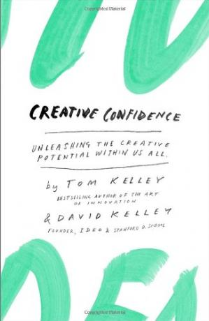Book cover Creative Confidence: Unleashing the Creative Potential Within Us All