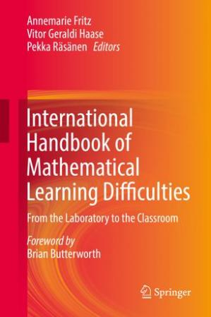 书籍封面 International Handbook of Mathematical Learning Difficulties: From the Laboratory to the Classroom