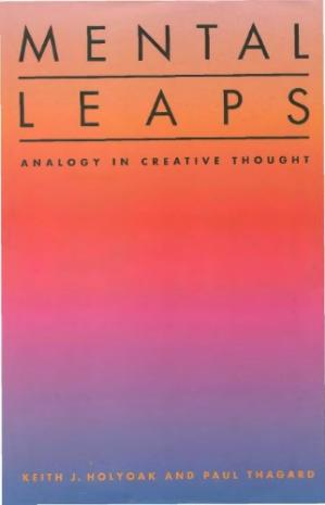 Book cover Mental Leaps: Analogy in Creative Thought