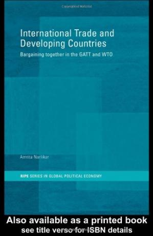 غلاف الكتاب International Trade and Developing Countries: Bargaining Coalitions in GATT and WTO
