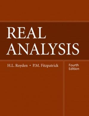 Book cover Real Analysis (4th Edition)
