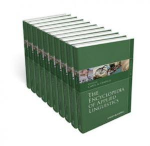 Book cover The Encyclopedia of Applied Linguistics, 10 Volume Set