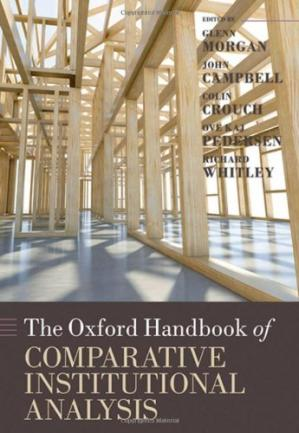 Book cover The Oxford Handbook of Comparative Institutional Analysis (Oxford Handbooks)