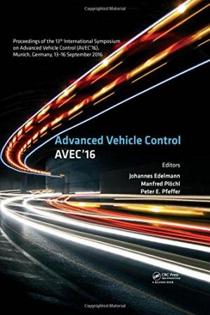 Εξώφυλλο βιβλίου Advanced Vehicle Control Proceedings of the 13th International Symposium on Advanced Vehicle Control, September 13-16, 2016, Munich, Germany