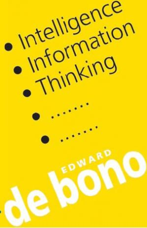 Couverture du livre Intelligence, Information, Thinking