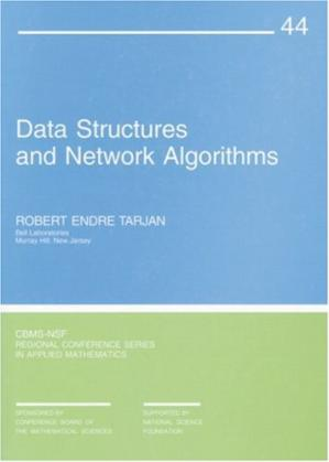 Portada del libro Data Structures and Network Algorithms