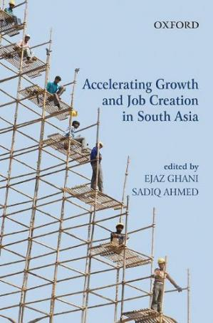 A capa do livro Accelerating Growth and Job Creation in South Asia