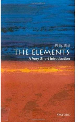 Portada del libro The Elements: A Very Short Introduction