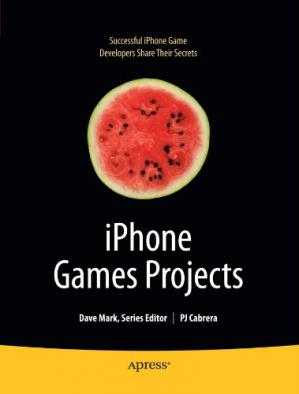 غلاف الكتاب iPhone Games Projects