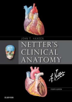 Book cover Netter's Clinical Anatomy