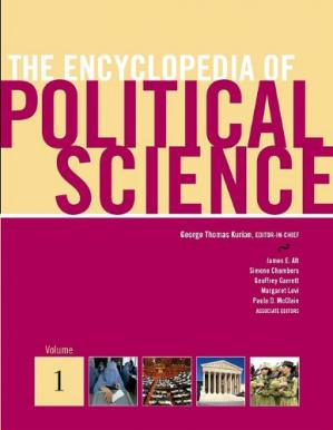 Okładka książki The Encyclopedia of Political Science, Volume 1-5