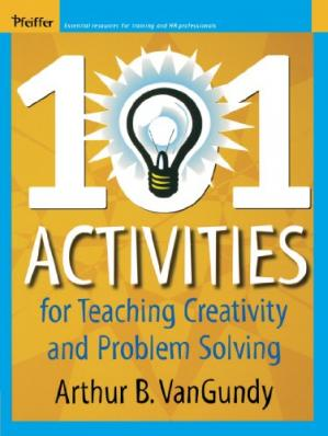Book cover 101 Activities for Teaching Creativity and Problem Solving