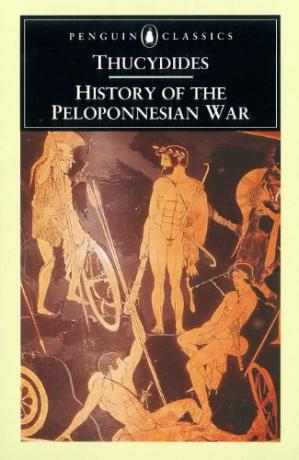 Portada del libro History of the Peloponnesian War