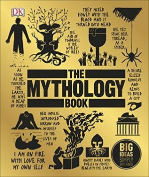 کتاب کی کور جلد The Mythology Book (Big Ideas Simply Explained)