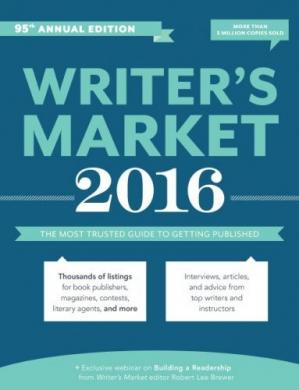 Portada del libro 2016 writer's market / The Most Trusted Guide to Getting Published