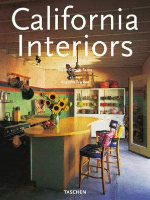 Sampul buku California Interiors