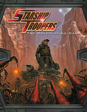 Book cover Starship Troopers. The Roleplaying Game